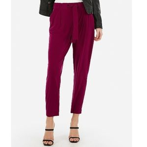 Express Mid Rise Jogger Ankle Pant Small